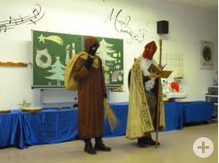 Nikolaus und Knecht Ruprecht