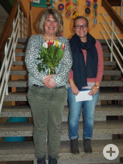 Begrüßung unserer neuen Rektorin Frau Nester in Bösingen