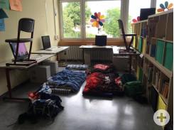 Schulhausübernachtung Kl. 3-4a