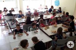 Frühstück Lesenacht Kl. 1-2