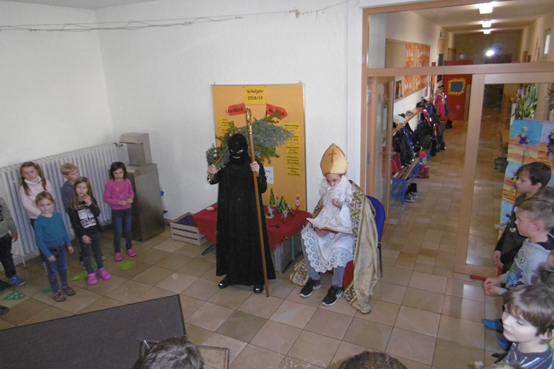 Nikolausfeier Herrenzimmern
