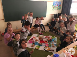 Freundefrühstück in Herrenzimmern Klasse 1-2c