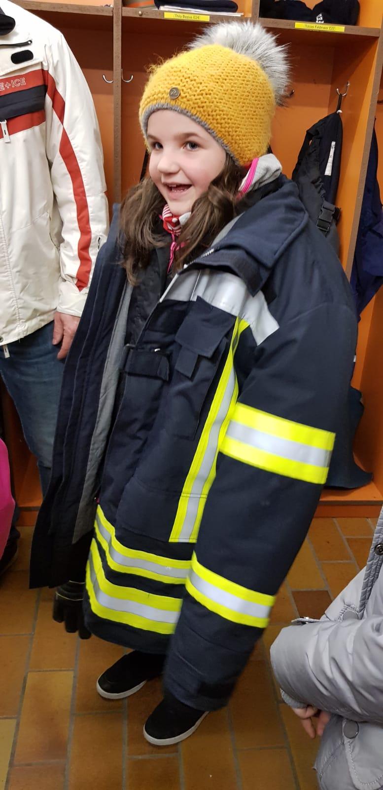 Besuch bei der Feuerwehr in Bösingen