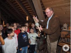Es gibt spannende Dinge im Bauernmuseum