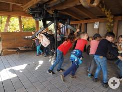 Action im Bauernmuseum