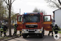 Frühjahrs Feuerwehrübung