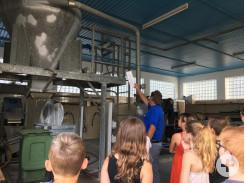Besuch der Kläranlage in Bösingen