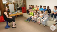 Besuch der Stadtbücherei in Rottweil