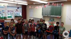 Lesenacht Klasse 1-2 in Bösingen