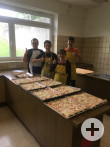 Pizzaverkauf Mai 2019