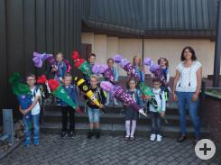 Erstklässler Schule Bösingen