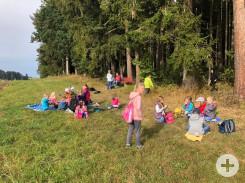 Herbstwandertag Grundschule Herrenzimmern
