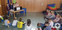 Vorlesetag im Kindi