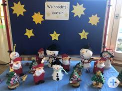 Weihnachtsbasteltag in Bösingen