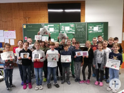 Projekt Lesespass: Klasse 3-4a aus Bösingen