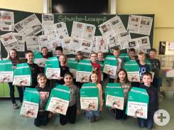 Projekt Lesespass: Klasse 3-4b aus Herrenzimmern