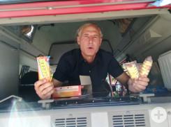 Unser Eis-Chef Herr Kaiser