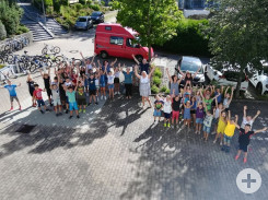 Letzter Schultag in Bösingen