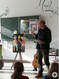 Autorenlesung mit Hr. Kasmann