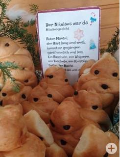 Der Nikolaus war da.